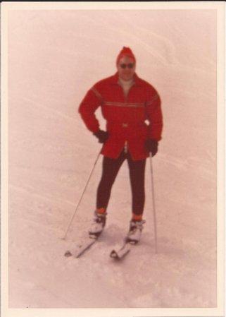 Pa skiing