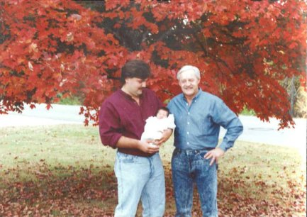 Danny & Pa and baby Nick