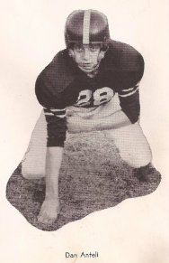 Pa in his football days