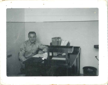 Pa in the Army stationed in Germany 1956.