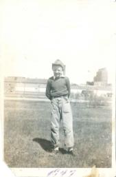 1947 what a cute boy. My nephews look like him.