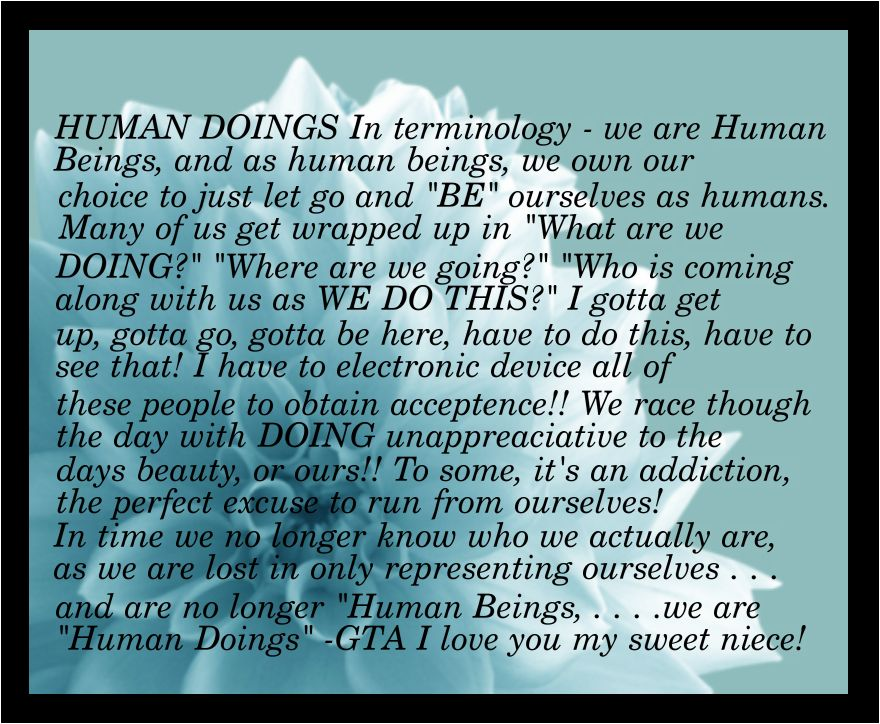 Humandoings