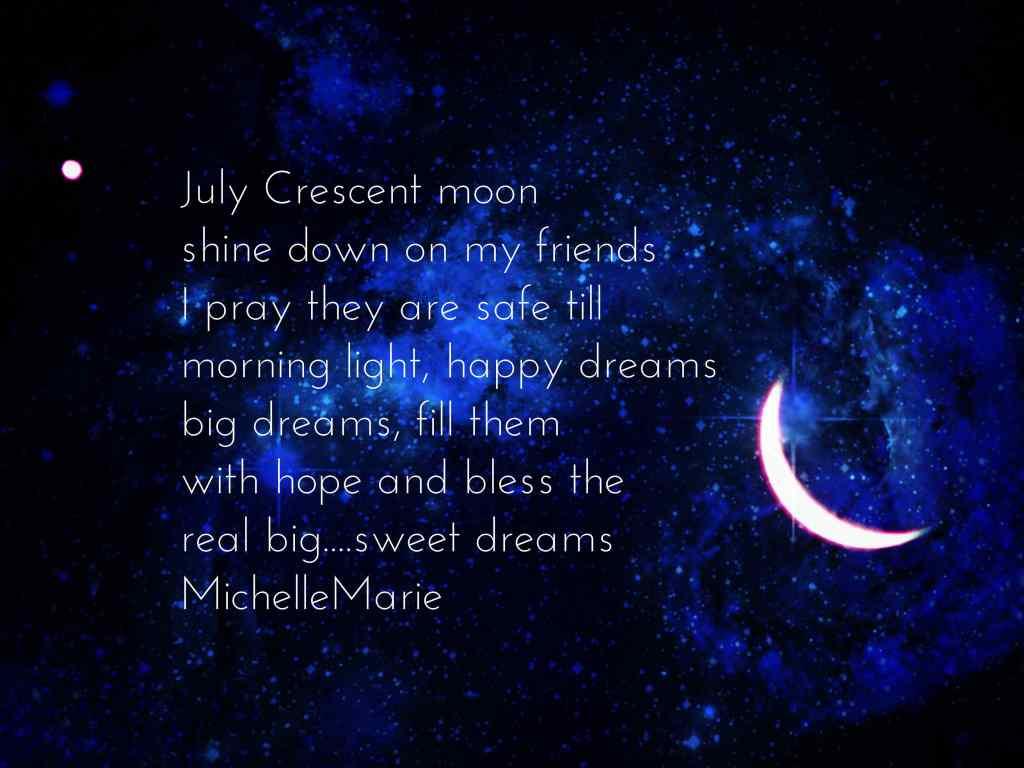 July Crescentmoon