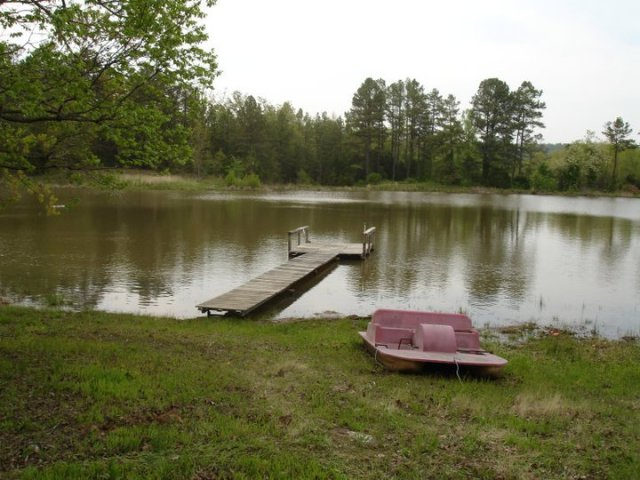 Boat dock, I know my Pa loved this! We had a pond at our childhood home!