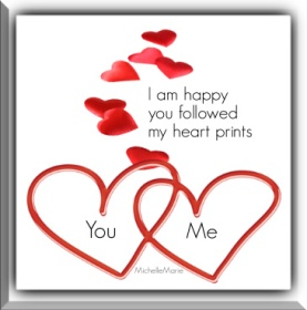 iamhappyyourfollowedmyheartprints