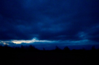 I have missed my dawn sky so I waited and watched