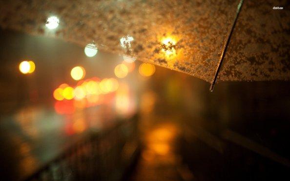 umbrella-street-city-night-light