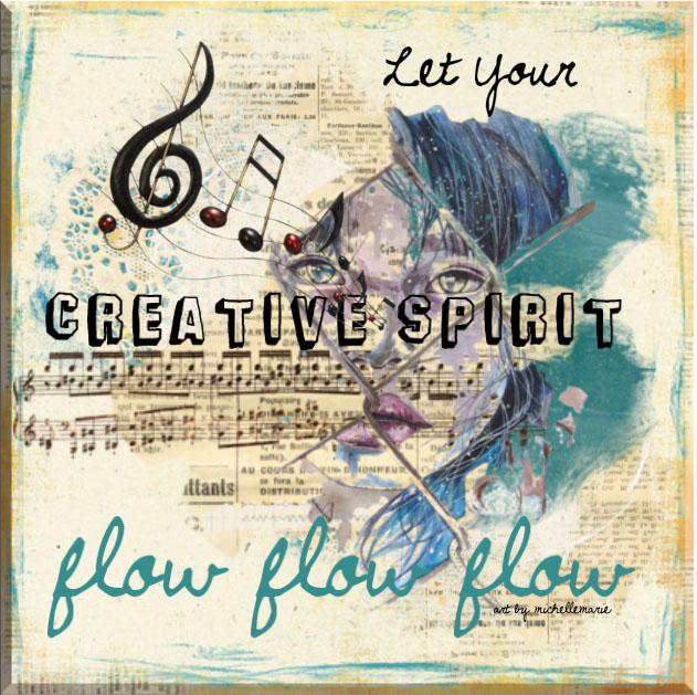 Art by MichelleMarie, Creative Spirit Flow